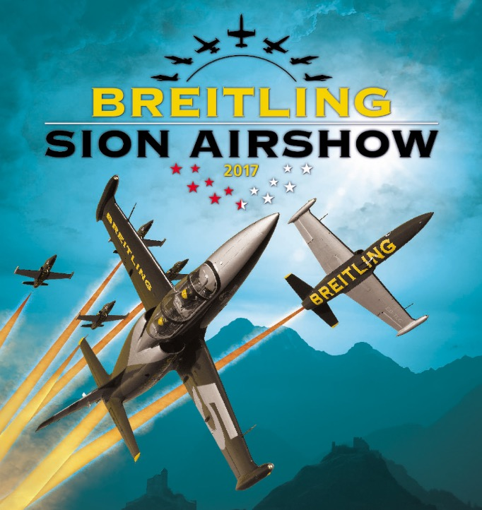 AeCL Breitling Sion Air Show